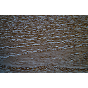Opaque coating for brushed - aged siding for interior use