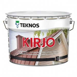 KIRJO Paint for sheet-iron roofs